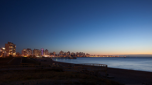 "Punta del Este Skyline at dusk | 110113-9553-jikatu | <a href=""http://www.flickr.com/photos/59207482@N07/5357864108"">View at Flickr</a>"