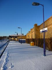 Malton platform (seanofselby) Tags: station train branch br railway line malton