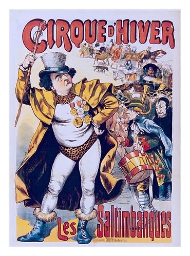 013-Circo de Invierno-Los Saltibanquis-siglo XIX-Les Siles maison du libre et de l'affiche