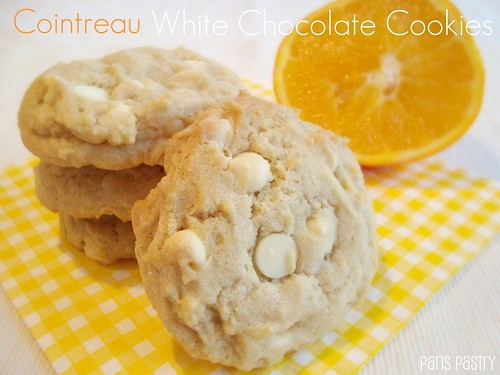 Cointreau - White Chocolate Cookies