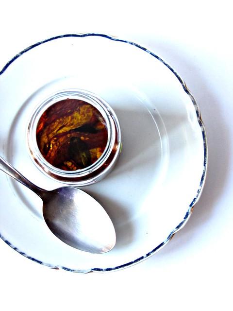 Oeuf Cocotte con Pomodori Secchi e Pesto