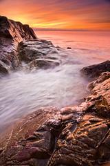 First Sunrise of 2011 (chris lazzery) Tags: seascape sunrise massachusetts gloucester rockport canonef1740mmf4l leefilters 5dmarkii