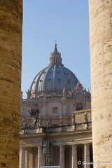St. Peter's Basilica 2 (Giuseppe Cammino) Tags: canon eos basilica cupola sanpietro stpeter 550d 18135mm