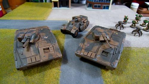 Old Crow Tanks