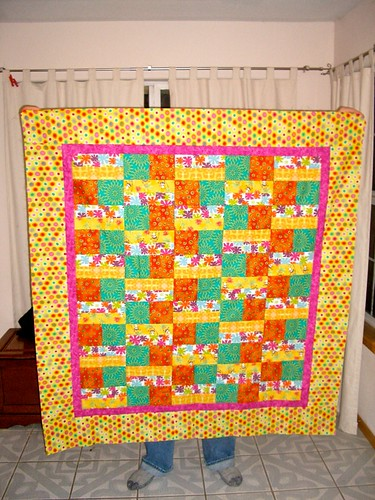 Brown Bag Challenge Quilt