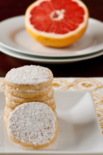 Grapefruit Meltaway Cookies