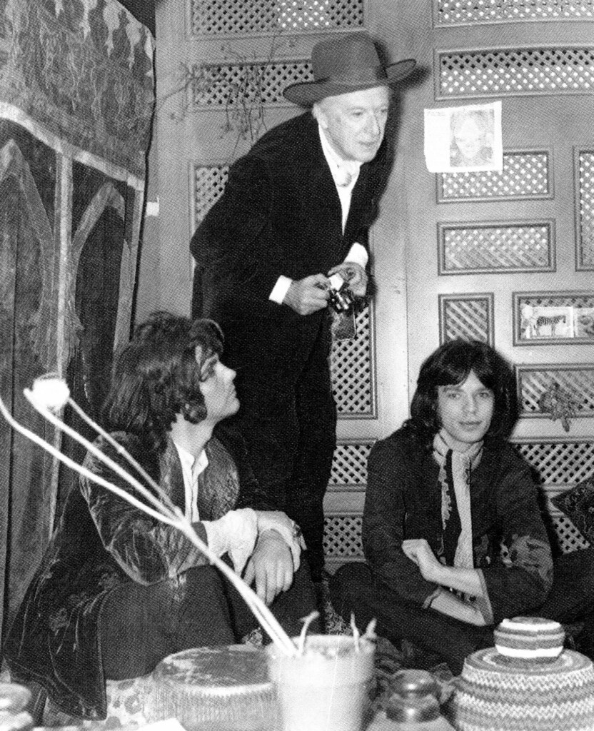 James Fox, Cecil Beaton and Mick Jagger