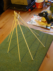 Tipi project - the frame