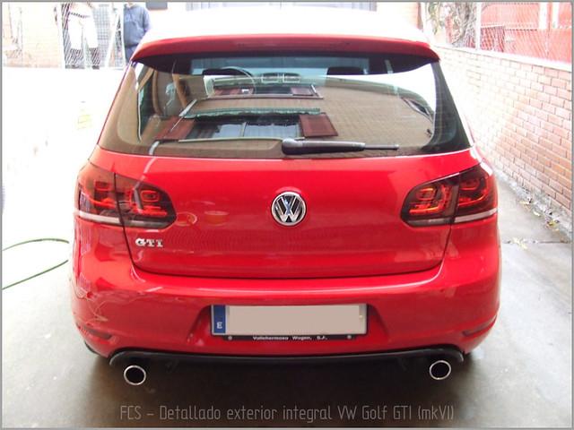 Detallado exterior VW Golf GTI mkVI-66