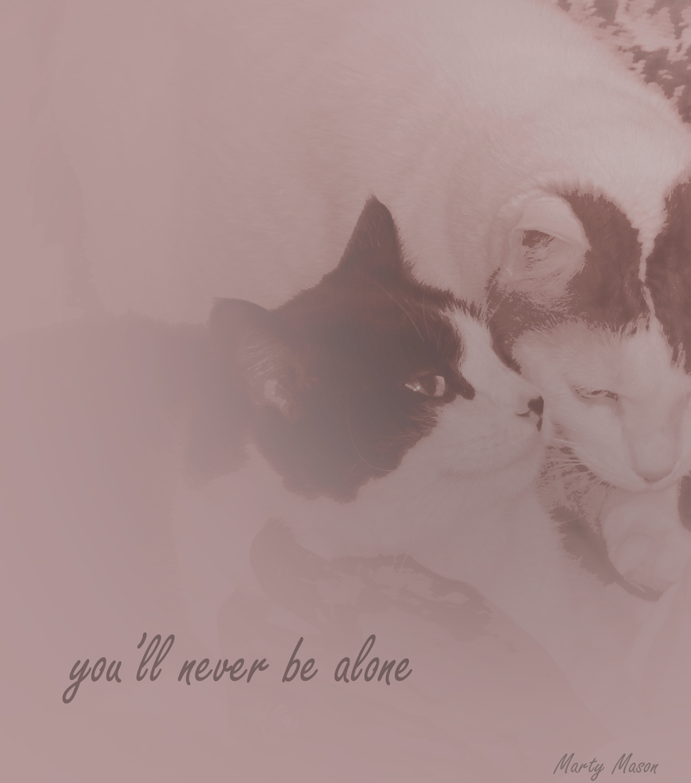 you'll never be alone