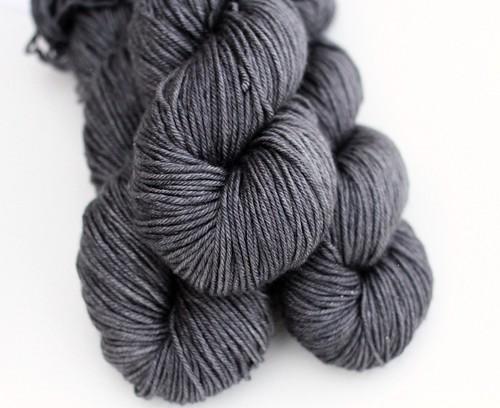 Dark & Stormy - 50.50 Silk Merino Lite