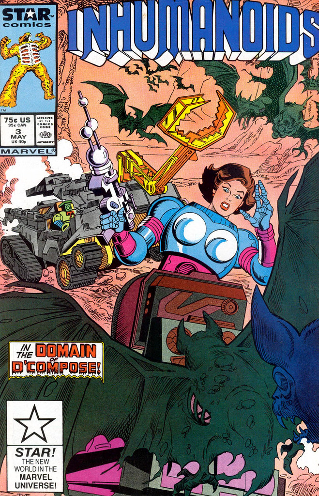 Inhumanoids - Issue 3 Cover