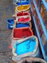 Colors (Funky Tee) Tags: mountains colors ma nikon morocco coolpix picnik rif chefchouen kif chouen p80