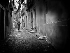 Mapping the dark (isolano.) Tags: street bw portugal dark poetry poem darkness lisboa lisbon mouraria herbertohelder