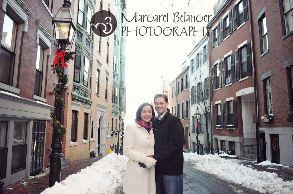 Karen & Joe, engagement session, Boston