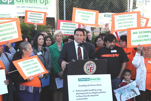 Councilmember Jose Huizar-Clean Up-Green Up-Economic Development-Environmental Justice-Los Angeles