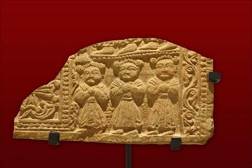 Personnages nestoriens (musée Guimet)