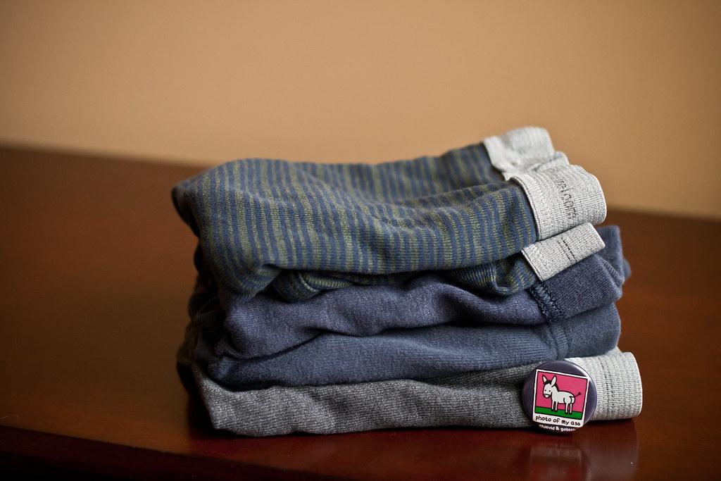 folded undies
