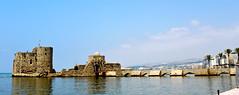 Sea Castle (Pepe Pont) Tags: sea lebanon mer castle mar mediterranean mare saida castello chteau castillo mediterrneo mediterraneansea liban  caste