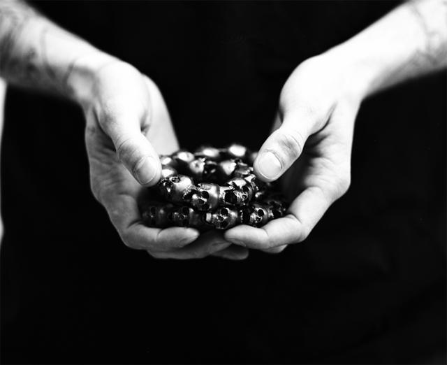 Giorgio Di Salvo Skulls Necklace 04