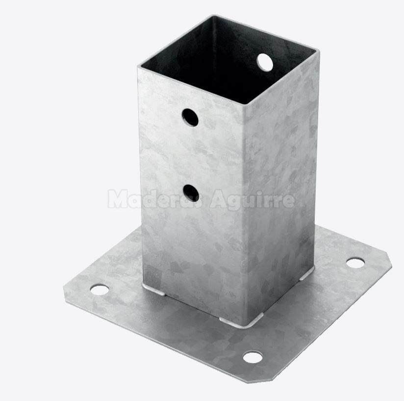 Soporte pilar cuadrado 91x91