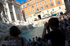 Roman holiday (Mike Snell Photography) Tags: fontanaditrevi trevifountain fountain sculpture architecture rome italy baroque