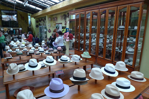 Hat Workshop and Museum - Cuenca,  Ecuador
