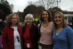 Deb Baltes, Joan Barett, Jane Stricklan and Kelly Rosenberger