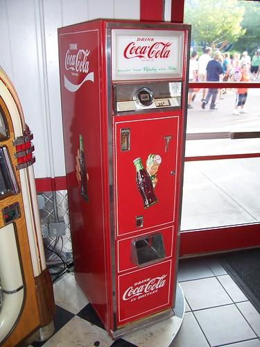 coke vending machine cost