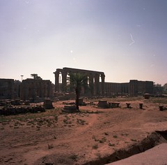 Egypt serie 12 (opdc (in&out)) Tags: 120 6x6 mamiya film 50mm kodak egypt karnak obelisque argentic louxor 6mf