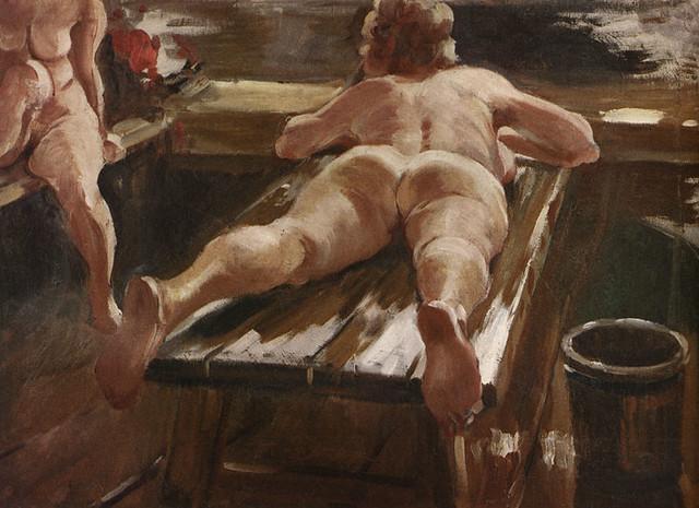 старинная эротическая живопись