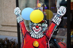 Nash's Sports Creepy Clown