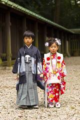 Kimono Kids - 七五三 (Einharch) Tags: wedding festival japan kids canon japanese tokyo traditional 日本 東京 kimono shichigosan kodomo meijijingu 着物 七五三 meijishrine 子供 明治神宮 550d キャノン kidsfestival japanesetraditionalwedding 神前式 shinzenshiki kissx4 canonkissx4