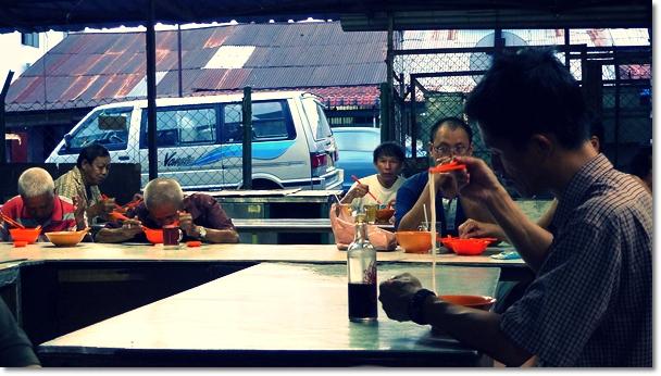 Shabby Dining Environment