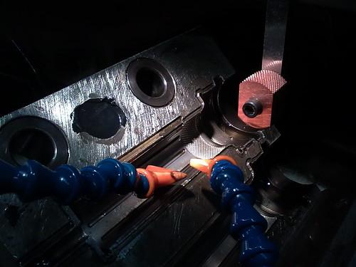 Grabados de figuras a electroerosión en molde de inyección