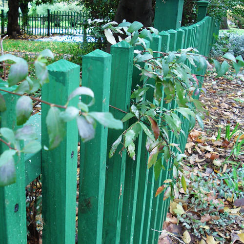 Gumby Green Fence