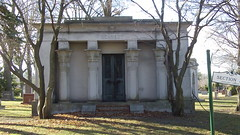 Kennedy Mausoleum (Dave Garvin) Tags: cemetery detroit funeral egyptian kennedy woodlawn mausoleums