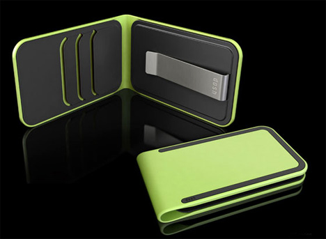 Inner view of dosh wallet in different colour