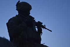 Sunrise Joint Patrol (mark.burrell) Tags: afghanistan operationenduringfreedom observationpost combatpatrol nuristanprovince staffsgtmarkburrell taskforcebulldog 1327infregt