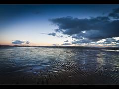 Flat, Crosby beach (Ianmoran1970) Tags: sky cloud colour beach wet landscape sand boots relfection mersey crosby muddyboots ianmoran ianmoran1970
