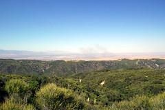 Ridge overlooking the Mojave Desert