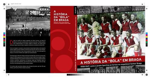 Capa do Livro: A História da Bola em Braga
