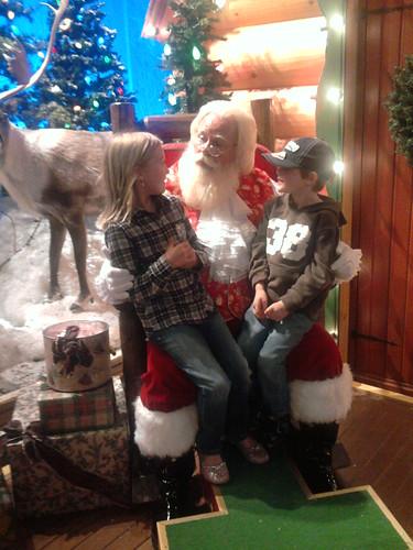 Bass Pro Santa, 11/16/10