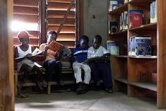 Children read at the Fountain of Hope Library (Lubuto Library Partners) Tags: lubutolibraryproject zambia lubuto library libraries africa books ovc literacy aids hivaids orphans children youth education reading streetchildren streetkid fountainofhope lusaka lubutolibraries lubutolibrarypartners publiclibraries ovcy