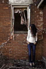 Day 303 of 365 (jessica bracken photography) Tags: selfportrait abandoned nikon oldhouse brokenwindow 2470 365project d700