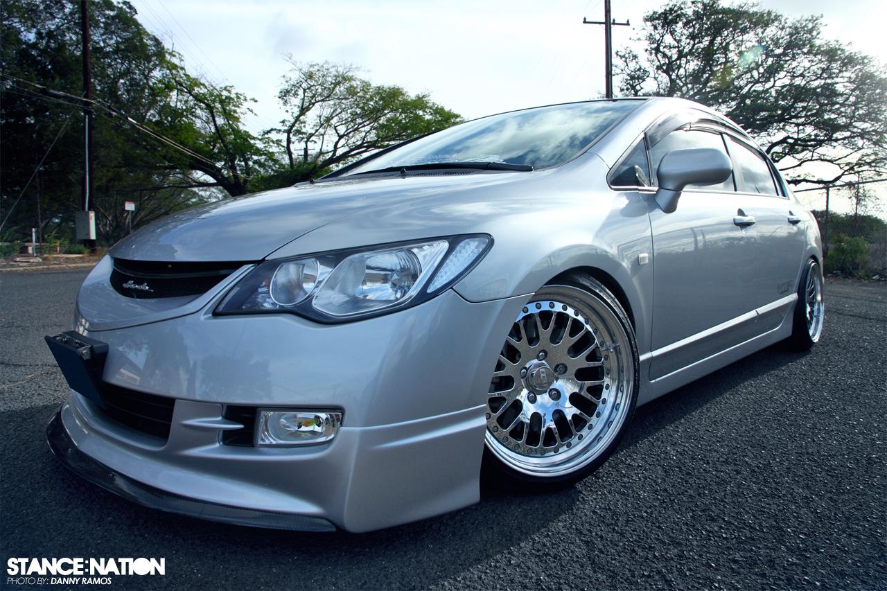 Honda Civic x CCW Classic | StanceNation™ // Form > Function