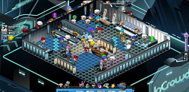 Nightclub City Tron club