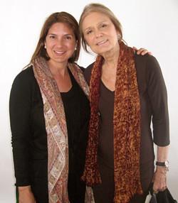 Regina Kulik Scully & Gloria Steinem