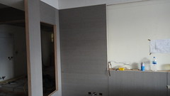 2010-12-10-電視背牆貼皮完成