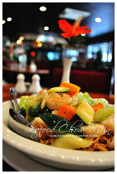 Hong Kong Chinese Restaurant Toowoomba: Seafood Chow Mein